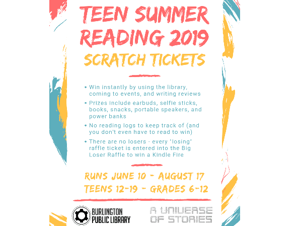 Teen Summer Reading General Info